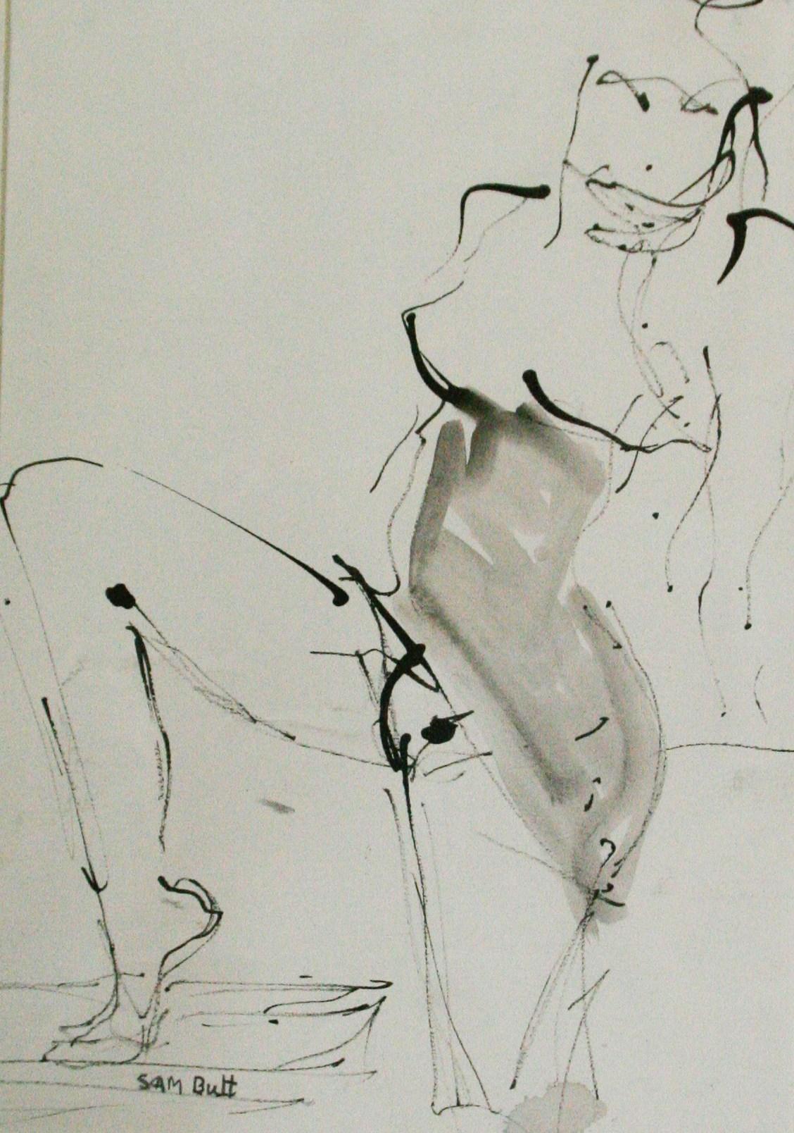 Model in inkt